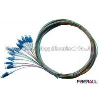 Wholesale 12 Fiber Bundle Fiber Optic Pigtail / LC Pigtail Multimode For Data Communication Network from china suppliers