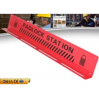 Wholesale ZC-S004 CE Durable Red Lock Out Station Steel Material 547g Weight from china suppliers