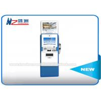 Wholesale Dual Touch Screen Coin Counting Kiosk Display Stands Multi Languages Supported from china suppliers
