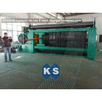 Wholesale Double Rack Drive Gabion Machine / Hexagonal Wire Mesh Machine from china suppliers