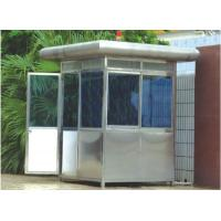 Wholesale Custom Portable Stainless Steel Security Guard Booths , Sentry Box from china suppliers