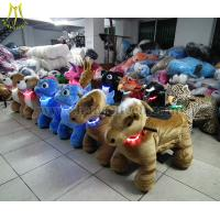 Wholesale Hansel coin operated walking animal toy cars for Outdoor Amusement Rides from china suppliers