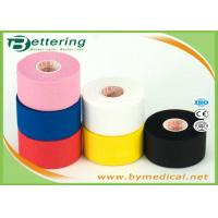 Wholesale Multi Colour Athletic Cotton Sports Tape Trainers Strapping Tapes Joints Protector GYM tape from china suppliers