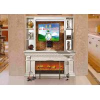 Wholesale Villa / Hotel / Restaurant Decoration Mantle Electric Fireplaces TV Stands Classical from china suppliers