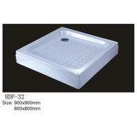 Wholesale Acrylic shower tray, shower basin,acrylic shower base HDP-32 900X900,800X800 from china suppliers