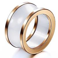 Wholesale New Super Fashion Tagor Jewelry Factory Ceramic Tungsten Series Ring TYWR050 from china suppliers