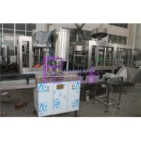 Quality SUS304 / SUS316 Water Bottle Filling Machine , Small Scale Pure Liquid Filling Line for sale