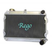 Wholesale 3 Row 56mm racing car Aluminum Radiator for MAZDA RX7 S1 / S2 MANUAL from china suppliers