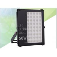 Wholesale Optical Lens LED Outdoor Flood Light Fixtures , Industrial LED Flood Lights 80~100 lm/W from china suppliers