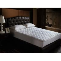Wholesale Hotel White Waterproof Mattress Protector Cover with Four Corner Anchor Straps from china suppliers