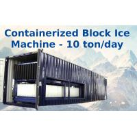 Wholesale Big Capacity Containerized Block Ice Machine Convenient Air Cooling 10t from china suppliers