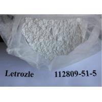 Wholesale Letrozole Femara Anti Estrogen Steroids breast cancer treatment CAS 112809-51-5 from china suppliers