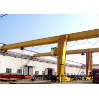 Wholesale Traveling Electric Semi Goliath Crane Light Duty For Steel Stock Yard / Warehouse from china suppliers