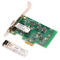 Wholesale 1000Mbps Gigabit Ethernet Desktop Computer Network Adapter 1G PCIex1 Fiber Optic Network Interface Cards from china suppliers