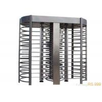 Wholesale Stainless Steel Full Height Turnstiles Gate RS 485 Security Rotary Turnstile from china suppliers