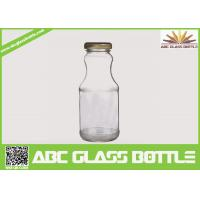 Wholesale Hot sale 6oz glass bottle for juice with twist off metal cap from china suppliers