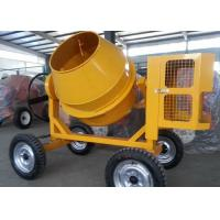 Wholesale 175L Mini Diesel Concrete Mixing Machine With Hydraulic Hopper , 13KW Diesel Engine from china suppliers