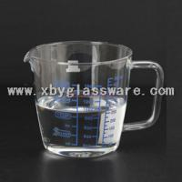 Wholesale Pyrex glass measuring cup with handle from china suppliers