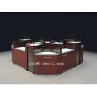Wholesale watch display kiosk with tempered glass and LED from china suppliers