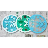 Quality Hot sale product nice snow beautiful cup mat for sale