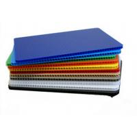 Wholesale High Strength Light Weight Polypropylene Hollow Sheet Correx Board For Industrial / Packing from china suppliers