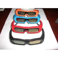 Wholesale Eco-Friendly PC Active Shutter 3D TV Glasses , Battery Powered 3D Glasses from china suppliers