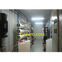 water filtration systems seawater desalination plant KYsearo brand containerized series