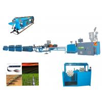 Wholesale High Speed PE Drip Irrigation Pipe Production Line Two Extruders For Vegetable from china suppliers