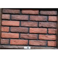 Wholesale Light Weight Exterior Brick Panels , Vintage Brick Veneer Wall Building from china suppliers