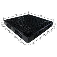 Quality cheap black plastic pallet for sale