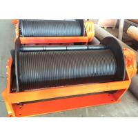 Quality Black Hydraulic Crane Winch For Hoisting 5-20 Ton Objects ISO9000 BV Certificate for sale