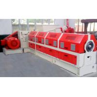 PLC Control PVC Cable Extruder Machine With Water Strand Pelletizing System