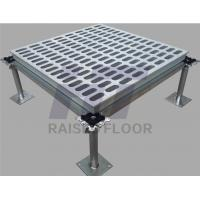 Quality Computer Room Aluminum Raised Floor Fireproof Innovated Structure Design for sale
