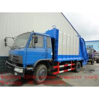 Wholesale dongfeng 12cbm garbage compactor truck for sale from china suppliers