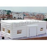Wholesale Double Layer Inflatable Event Tent Wedding Cube Tent With White Or Pink Color from china suppliers