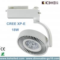 Wholesale 18W LED Track Lights With CREE XP-E Chips Angle adjustable Pure Aluminum heatsink from china suppliers