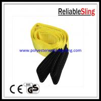 Wholesale EN1492-1 3T Flat Webbing Sling for high capacity lifting / pulling from china suppliers