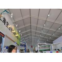 Quality PVC Roof Outdoor Exhibition Tents White / Clear / Orange , Fire Proof And Water Proof for sale