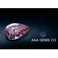 Wholesale High Hardness Pear Shaped Moissanite Pink For Ring / Earring from china suppliers