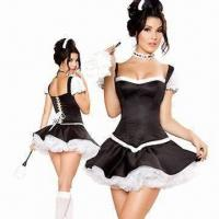 Wholesale Flirty Fifi Costume, Includes Corset, Skirt, Headpiece and Petticoat, with Size from XS to 4XL from china suppliers