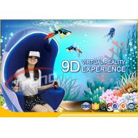 Wholesale Multi Players Interactive 9D Virtual Reality Cinema With LED Touch Screen Single Seat from china suppliers