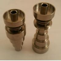Wholesale Universal 6 In 1 Domeless Titanium Nail 10, 14, & 18mm Male/Female from china suppliers