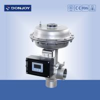 Wholesale Pressure Regulating Valve with square positioner for regulating fluid from china suppliers