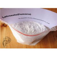 Wholesale Anti Estrogen Bodybuilding Steroids Letrozole Femara White Powder CAS 112809-51-5 from china suppliers