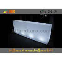 Wholesale Lighting Colored Exhibition Furniture , 120 × 40 × 90 cm LED Outdoor Furniture from china suppliers