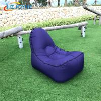 Wholesale New arrival design air folding bed inflatable air bean bag chair from china suppliers