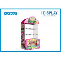 Wholesale Toys Corrugated Cardboard Floor Displays Stands For Trade Shows from china suppliers
