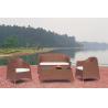 Buy cheap Beach Wicker Sofa Set/Patio Wicker Sofa WS-006 from wholesalers