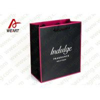 Wholesale Full Inside Colored Custom Printed Paper Bags For Wedding Black Rope from china suppliers