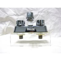 Buy cheap Double Handle Classical Kitchen Sink Faucets With Plated - Zinc / Plated- Nickel Body from wholesalers